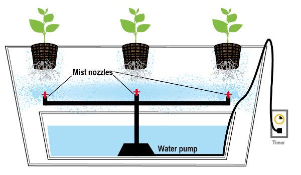 4-aeroponics-system