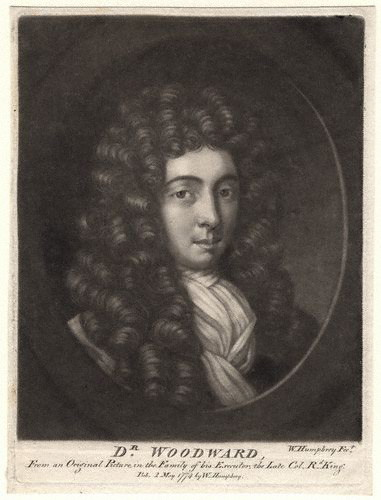NPG D4911,John Woodward,by; after William Humphrey; Unknown artist